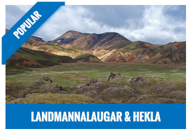Landmannalaugar and hekla volcano jeep tour