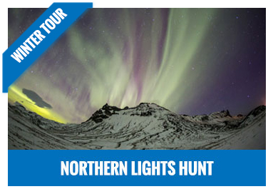 Northern lights hunt jeep tour