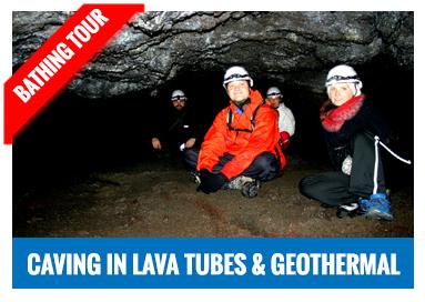 Geothermal bathing tour