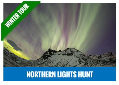 Northern lights hunt jeep tour