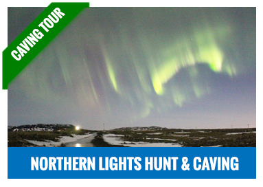 The Northern Lights and caving