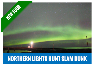 Northern Lights and Bathing