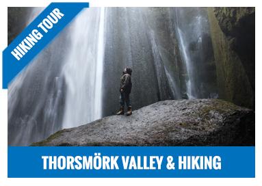 Hiking in Thorsmork